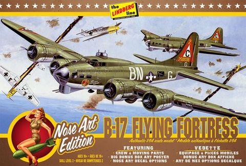 Lindberg 1/64 B-17G Nose Art Ed.*