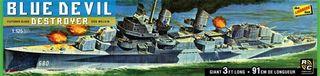 Lindberg 1/125 Blue Devil Destroyer