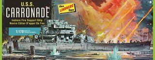 Lindberg 1/166 USS Carronade*