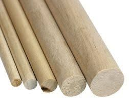 HHQ Wood BiRCh Dowel 2 X 915Mm 10Pc Pk*