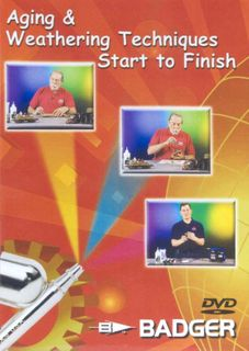 AGING & WEATHERING TECHNIQUES DVD *