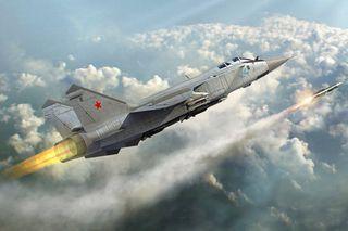 Hobbyboss 1:48 Russian Mig-31 Fox
