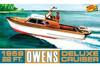 1/25 Owens Outboard Cruiser *