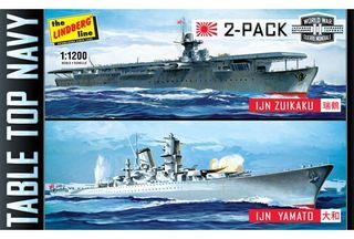 Lindberg 1/1200 Tabletop Navy 2-Pack *