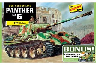 Lindberg 1/72 German Panther G Bonus *