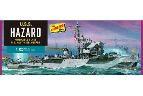 Lindberg 1/125 Us Navy Minesweeper *