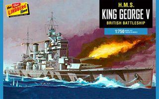 Lindberg 1:750 Hms King George V *
