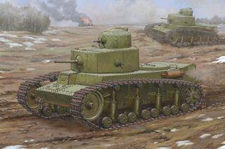Hobbyboss 1:35 Soviet T-12 Medium *D