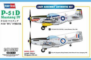 Hobbyboss 1:48 P-51D Mustang Iv F