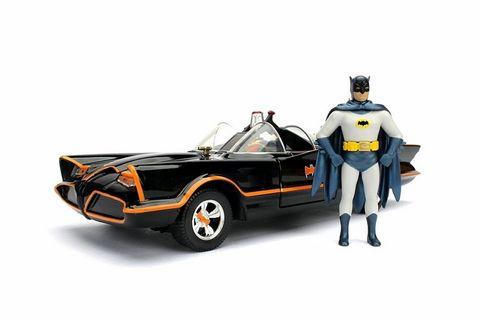 Jada Diecast Diecast1:24 1966 BatmobileW/Figurines