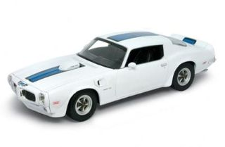 1:18 1972 PONTIAC FIRE. TRANS AM (WHITE)