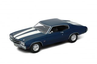 Welly 1:18 1970 Chevrolet Chev. Ss 454 (Blue)