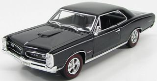 Welly 1:18 1966 Pontiac Gto (Black)
