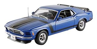 Welly 1:18 1970 Ford Mustang Blue