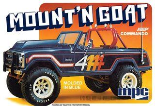 MPC 1:25 Jeep Commando Mount 'N Goat*D