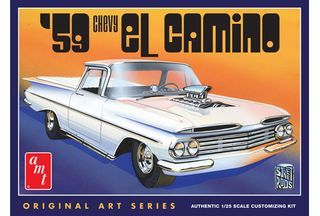AMT 1:25 59 Chevy El Camino (Original Art)