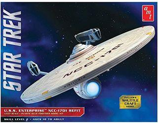 AMT 1:537 Star Trek Uss Enterprise Refit