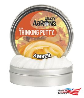 Crazy Aarons AM020 Amber- Glow In The Dark 4 Tin