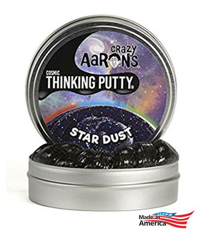 Crazy Aarons SD020 StarDust - 4 TinDust - Thinking Putty 4 Tin