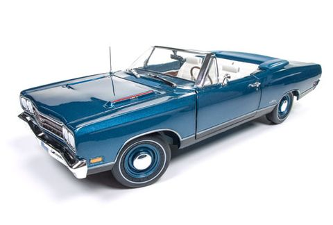 Autoworld 1:18 1969 Plymouth Gtx Convertible *D