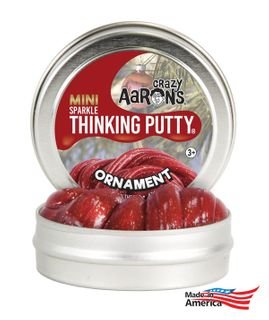 Crazy Aaron's Thinking Putty On003 Ornament 2 Tin Sparkles
