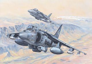 Hobbyboss 1:18 Av-8B Harrier Ii