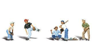 Woodland Scenics Ho Baseball Players I