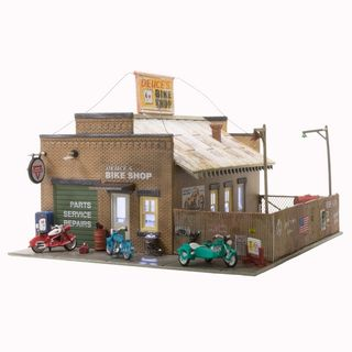 Woodland Scenics Ho Deuce'S Bike Shop (Lit) *