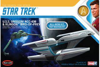 1:1000 Star Trek U.S.S. Grissom/Klingon