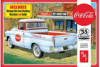 AMT 1:25 1955 Chevy Cameo Pickup (Coca-Cola)