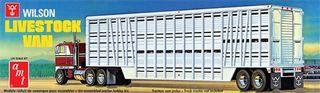 1:25 Wilson Livestock Van Trailer