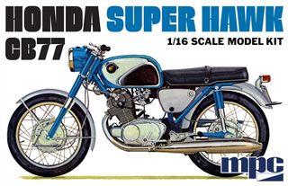 MPC 1:16 Honda Super Hawk Motorcycle*D
