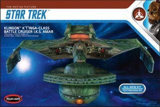 Polar Lights 1:350 Star Trek Klingon K'T'Inga
