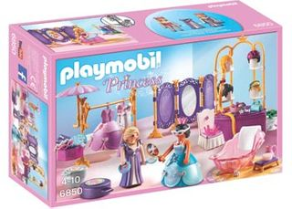 Playmobil Princess Dressing Room/Salon