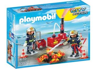 PLAYMOBIL FIREFIGHTING OPERATION WATER