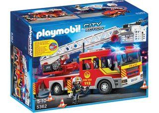 Playmobil Fire Ladder Unit Lights/Sound