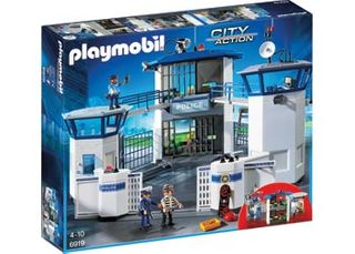 PLAYMOBIL POLICE HEADQUARTERS PRISON