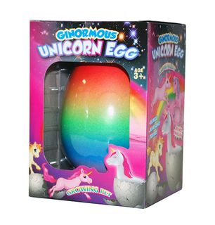 UNICORN GINORMOUS HATCHING EGG