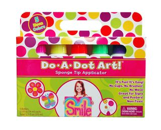 Do A Dot Art Fluorescent Markers 5 Pk *D