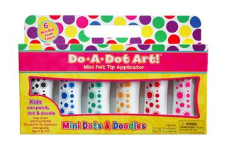 Do A Dot Art Mini Dot Jewel Tones Mkr(6)