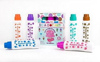 Do A Dot Art Ice Cream  Markers 6 Pack