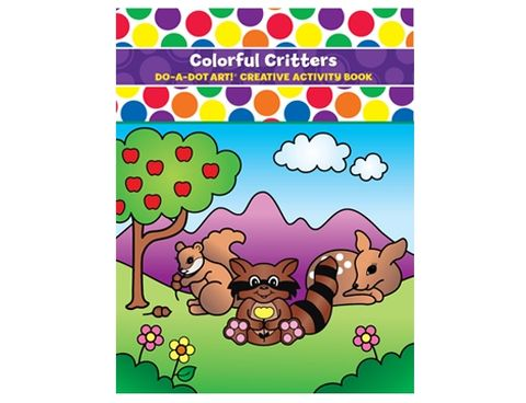 DO A DOT ART BOOK COLORFUL CRITTERS