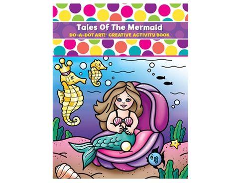 DO A DOT ART BOOK TALE OF THE MERMAIDS