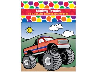 Do A Dot Art Book Mighty Trucks