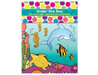 Do A Dot Art Book Under The Sea