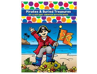 DO A DOT ART BOOK PIRATES AND TREASURE