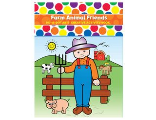 Do A Dot Art Book Farm Animal Friends