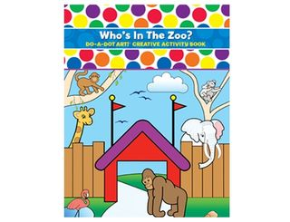 Do A Dot Art Book Who's In The Zoo