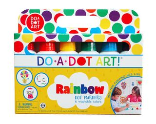 Do a Dot Art Rainbow Markers 6 pack