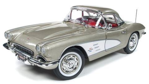 Autoworld 1:18 1961 Chevrolet Corvette Con *D